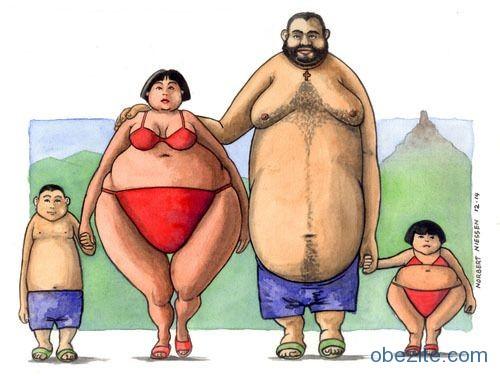 Obezite genetik mi