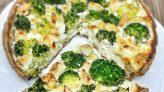 Sağlıklı Kiş (Brokoli ve Tavuklu)