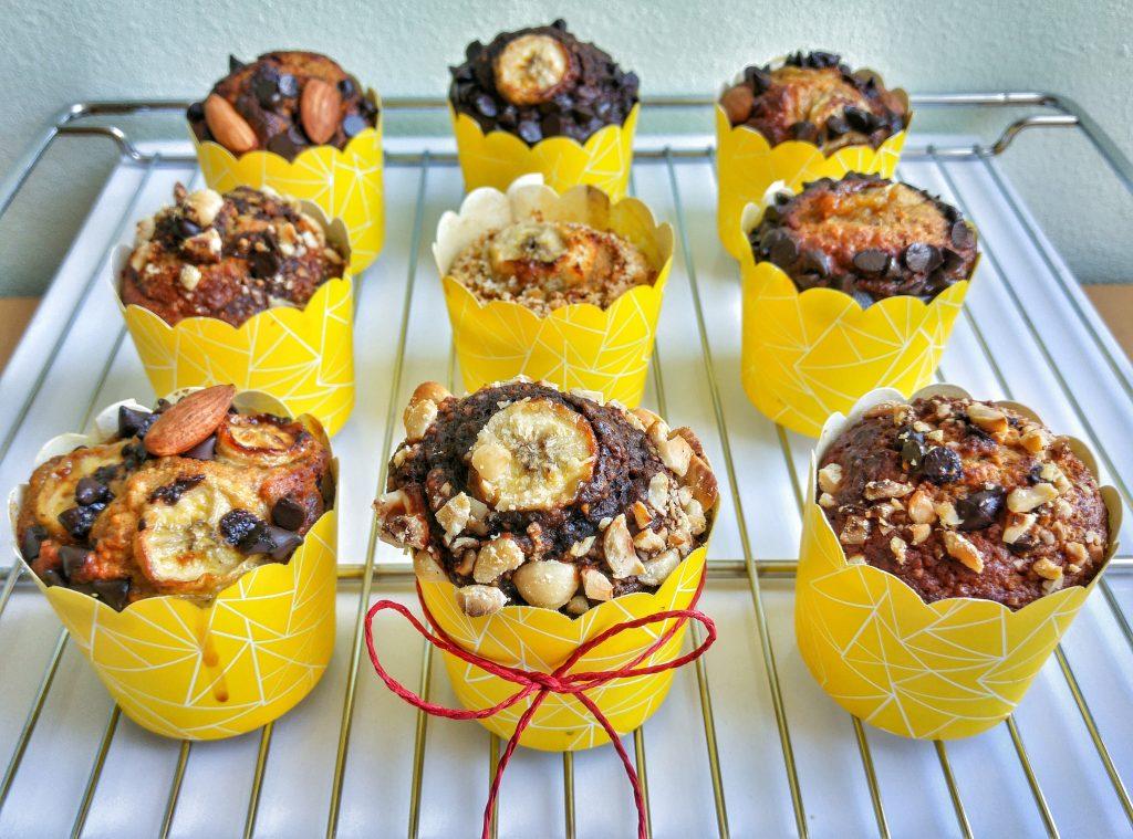 Muzlu muffin servisi