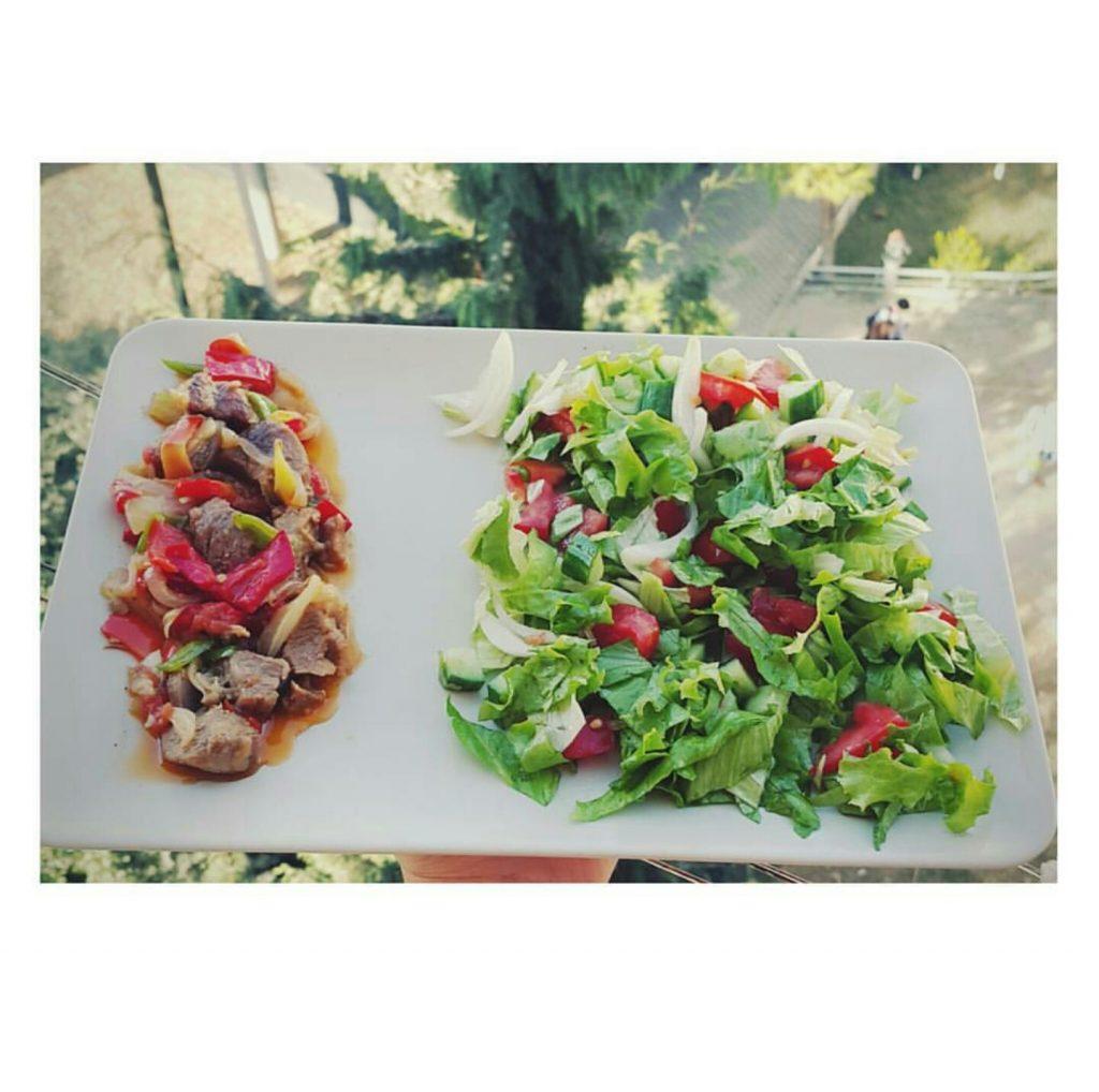 Et ve salata