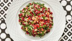 Roka ve Narlı Buğday Salatası