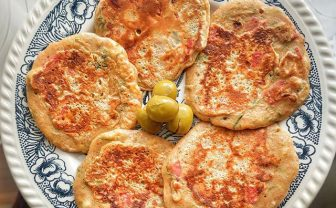 Peynirli Sucuklu Pankek