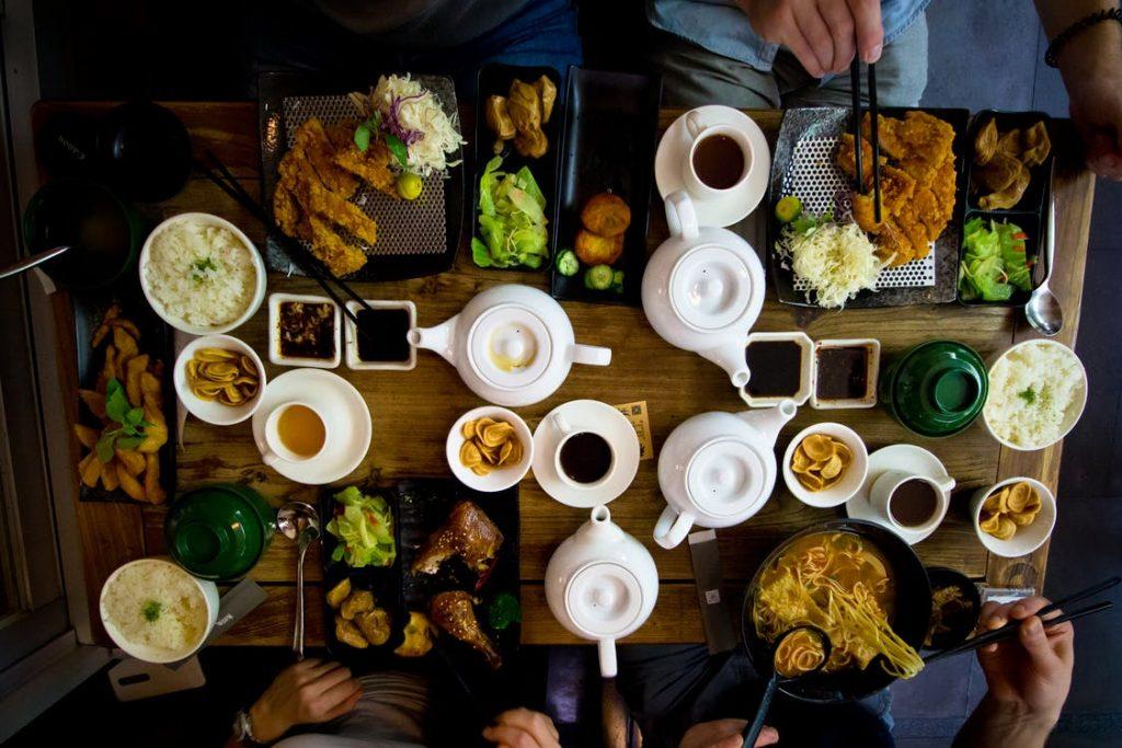 Aile yeme alışkanlıkları