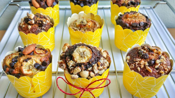 Muzlu ve Leblebili Muffinler