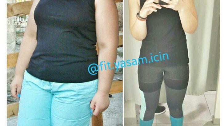 Sağlıklı Beslenerek Zayıflama (34 Kilo)