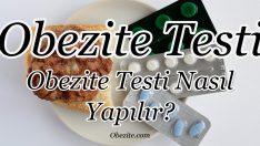 Obezite Testi (Obezite Testi Nasıl Yapılır?)